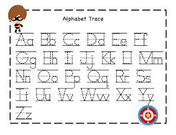 abc tracing sheet wonderful writing worksheets for kids on a and an introduction dear