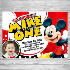 mickey mouse party invitation mickey mouse birthday invitation mickey mouse party invite mickey mouse printable card disney mickey mouse birthday first birthday party