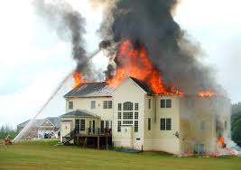 essay on the house fire up in flames lightning strike sparks massive house fire in