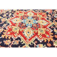 pazirik heriz navy blue traditional rug by savin rugs 3