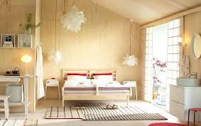 Ikea Bedroom Furniture A Medium Sized Bedroom Furnished With Open