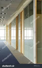 office door glass. Office Corridor Door Glass Partitions Room Business O