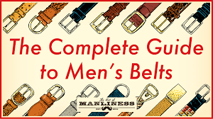 A Mans Guide To Belts The Art Of Manliness