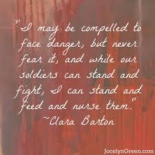 Clara Barton Quotes Beauteous Clara Barton Quote American Home Front Pinterest Clara Barton
