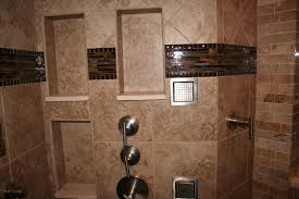 recessed wall niche for a shower enclosure
