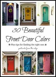 what color should i paint my front door30 Front Door Colors with tips for choosing the right one