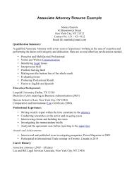 Sample Resume: Sle Attorney Resume Chavaz Co