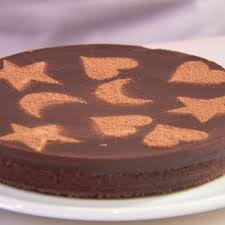Small Picture How to Stencil a Cake Cake Decorating Ideas