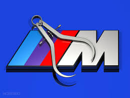 bmw m logo vector. bmw m logo with precision calipers bmw vector
