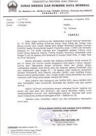 Invitation Energy Auditor Training In Semarang