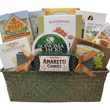 delectable gourmet gift basket