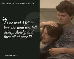 40 Quotes From 'The Fault In Our Stars' About Love Pain Grief New Quotes From The Fault In Our Stars