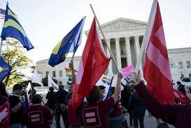 supreme court hears historic same sex marriage arguments  supreme court hears historic same sex marriage arguments newshour