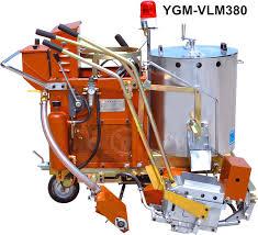 yg380 thermoplastic road line marking machine 30cm 45cm line marking equipment road line painting equipment