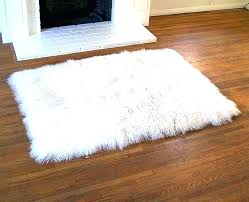 round faux fur rug round faux fur rug adorable white sheepskin applied to your residence concept