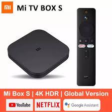 FREESHIP XTRA】[CHÍNH HÃNG] Android Tivi Box Xiaomi Mibox S 4K bản Quốc Tế ( Android 9.0) CHÍNH HÃNG XIAOMI - Mistore Việt Nam