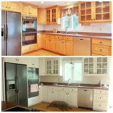 painting your kitchen cabinets you can do it le before le after