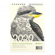 Phot Calendar Marini Ferlazzo 2020 Calendar Birds Of Australia Biome Eco Stores