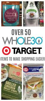 Grocery Store Product List Target Whole30 Grocery List 50 Whole30 Compliant Items To Get At