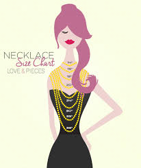 Size Necklace Chart Necklace Size Chart Visual Ly