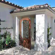 Spanish Colonial Custom Architectural Garage Door Dynamic Doors ...