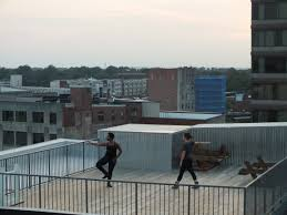 in rooftop performance quadrants stephanie leathers summons click to enlarge photo by chris vitiello