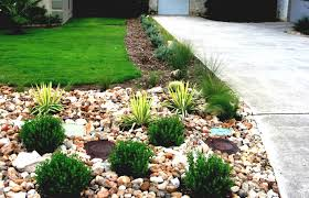Small Picture Driveway Landscaping Ideas Outdoor Design Rock Desert Gallery