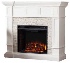 xerick corner convertible electric fireplace traditional indoor fireplaces by sei