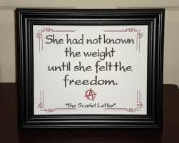 Scarlet Letter Quotes Classy Famous Quotes From The Scarlet Letter Mersnproforumco
