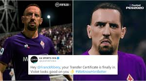 FIFA takes sly dig at PES after unveiling Franck Ribery's ...