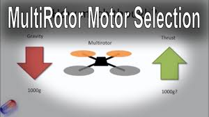 how to select the right motor for your multi rotor all types tri how to select the right motor for your multi rotor all types tri quad hex etc