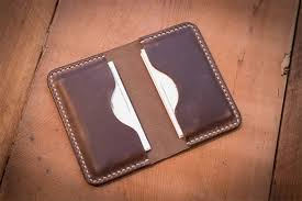 Leather Templates Leather Business Card Holder Template Making A Leather Card Holder