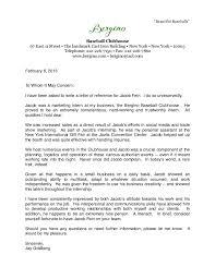Athletic Recommendation Letter Cover Letter Samples Cover Letter