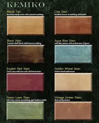Kemiko Color Chart Concrete Stains Colors Artcrete Designs In Austin Artcrete