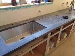 eric peterson uses basalt mesh in concrete countertop