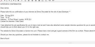 How To Confirm An Interview Best Photos Of Interview Confirmation Letter Reply Job