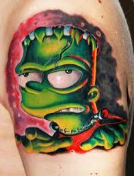 5 Nejlepších Tetování S Motivem Simpsonových Tvrecenze