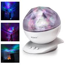 Soaiy Night Light Projector Soaiy Color Changing Led Night Light Lamp Aurora Star