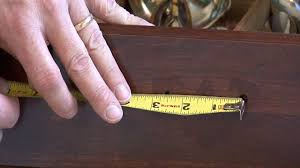 Home Maintenance How To Measure For Cabinet Hardware Youtube