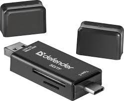Универсальный <b>картридер Defender Multi</b> Stick USB2.0 TYPE A/B ...