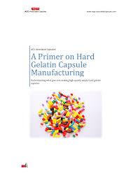 Acg Capsule Size Chart A Primer On Hard Gelatin Capsule Manufacturing