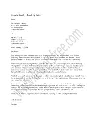 How To Write A Break Up Letter Image Collections - Letter Format ...