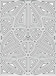 geometric shape coloring pages basic shapes printable quiver sheets 3d p