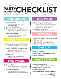 Party Planning Party Planning Checklist Balloon Time Events Planning In 2018