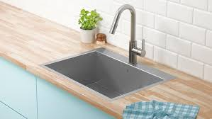 Best Pro Chef Stainless Steel Top Mount Kitchen Sink W Faucet Hole