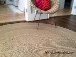 premium jute area rug 10 ft 300 cm large natural jute rug