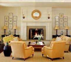 great room furniture ideas. Furniture Placement With Large Fireplace In Great Room | Rm-symmetrical-TradHm-9 Ideas