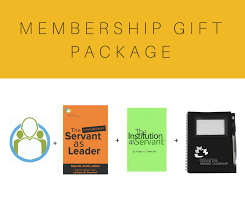 the servant as leader the case for servant leadership  membership gift package