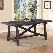 Rectangle Dining Room Tables Modus Yosemite Solid Wood Rectangular Extension Table Cafe