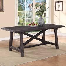 modus yosemite solid wood rectangular extension table